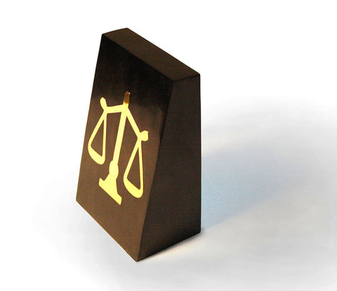 The Classic Black & Gold Book-End