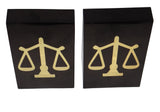 The Classic Black & Gold Book-End - Law Suits and More