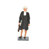 Female Barrister Miniature