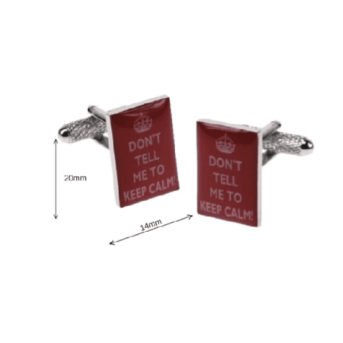 Cufflinks - Don`t Tell Me To Keep Calm