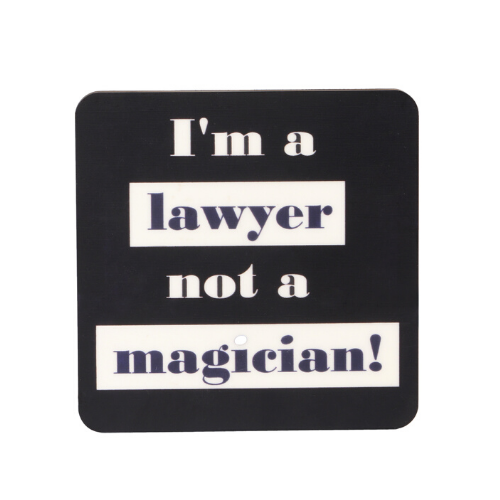 Coasters - I'm Lawyer-I'm Billing - Set of 4