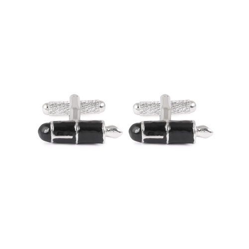 Classic Cufflinks by Onyx-Art London, Fountain Pen Cufflinks