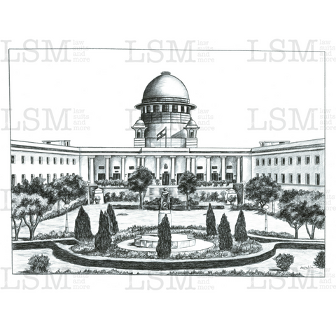 Print of the Supreme Court of India - 2 x 3 feet