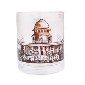 Glass Mug - Supreme Court - B&W