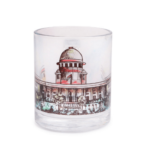 Glass Mug - Supreme Court - Color