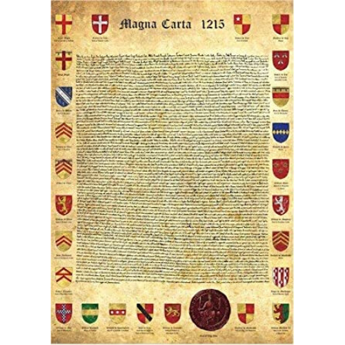 Poster - The Magna Carta - (Unframed Print)