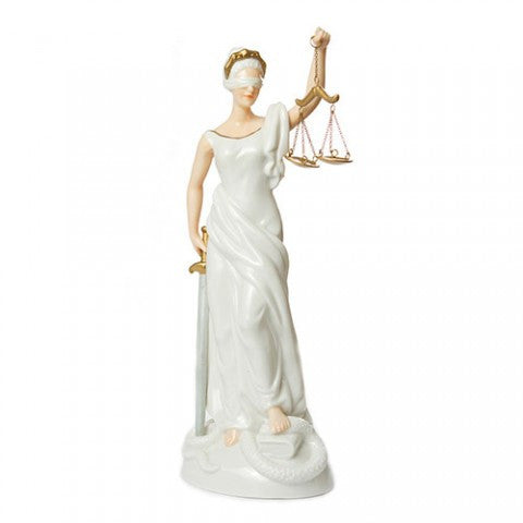 Lady of Justice Figurine