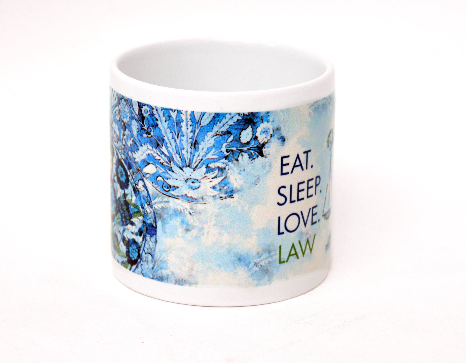 Eat, Sleep, Love, Law 6 oz mug - set of 4 - Law Suits and More