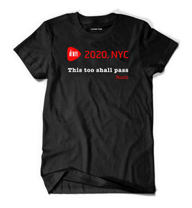 DROM NYC 2020:  Rumi Quote T-Shirt