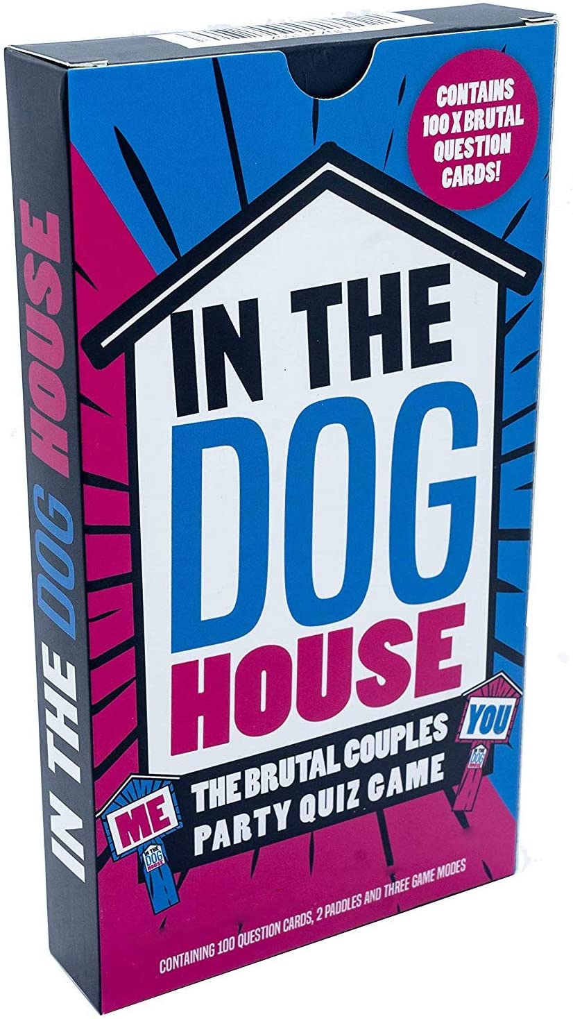 IN THE DOG HOUSE - THE BRUTAL COUPLES PARTY GAME FOR ADULTS