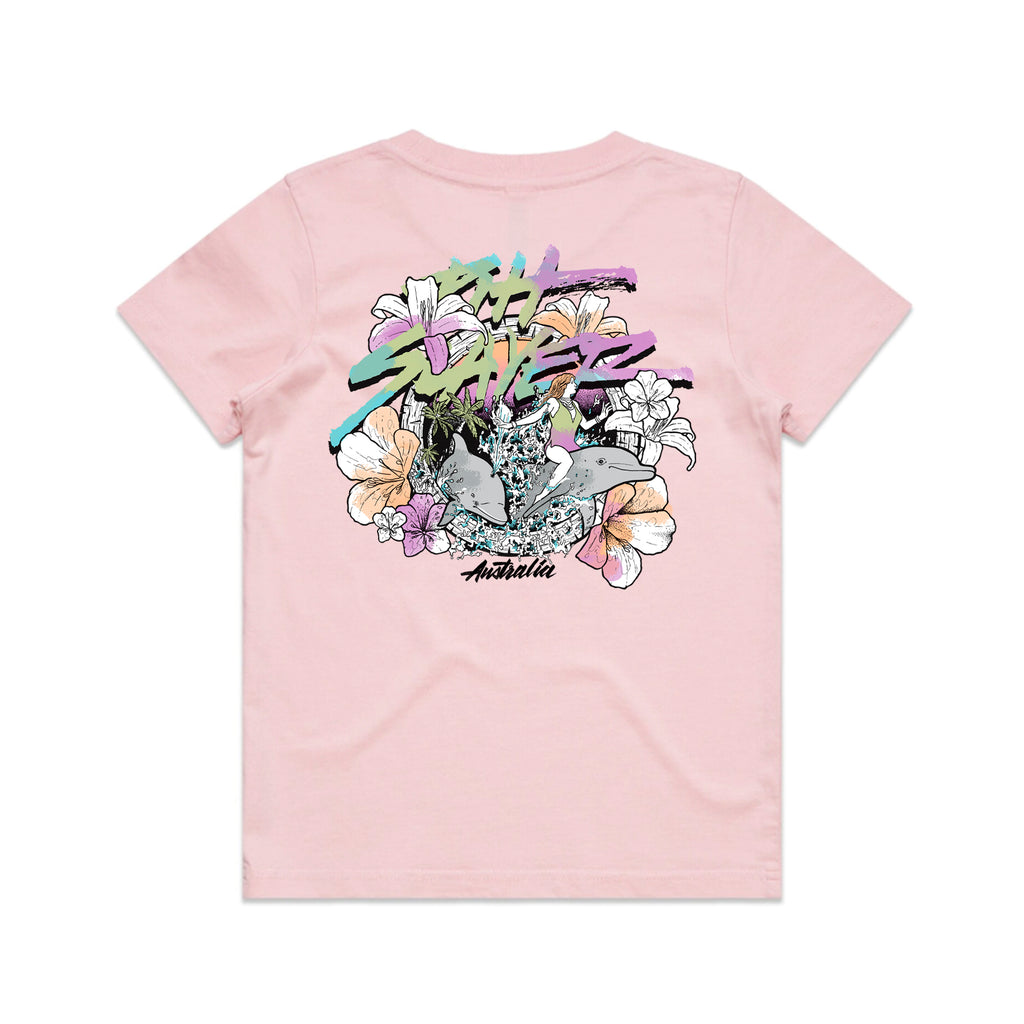 Dolphin Tee Groms - Pink