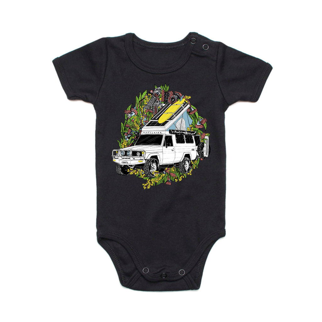 Troopy Romper - Black
