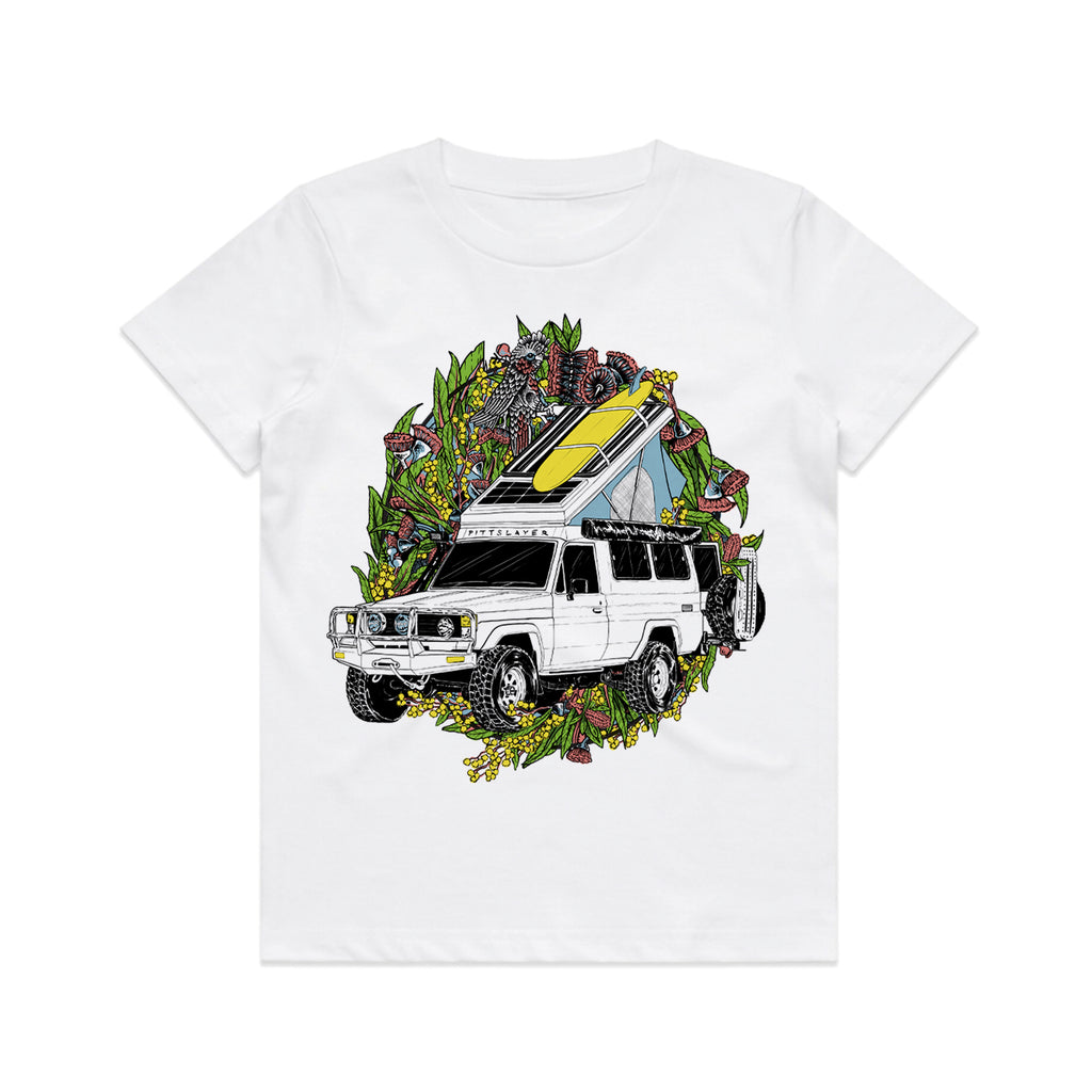 Troopy Tee Kids - White