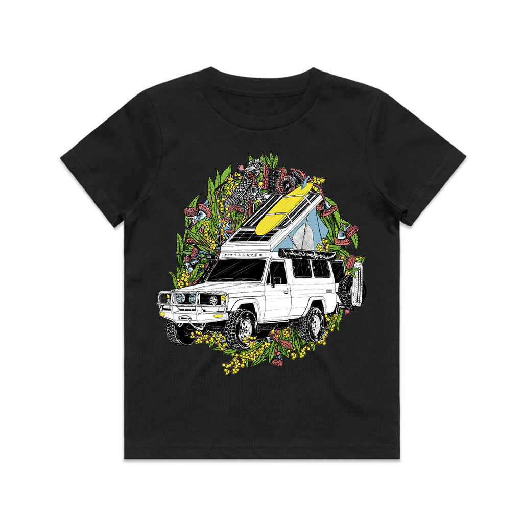 Troopy Tee Kids - Black