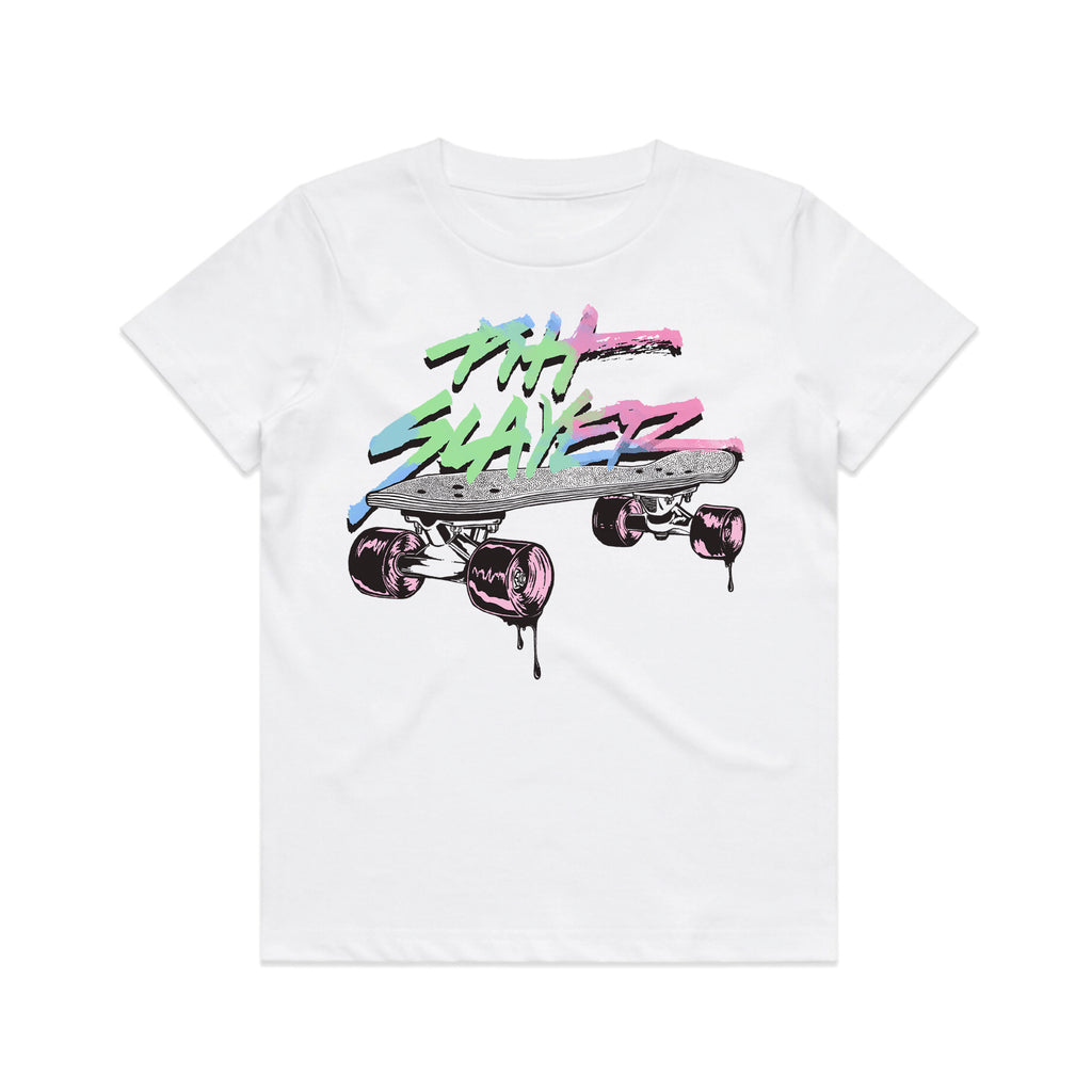 Banana Board Kids Tee - White