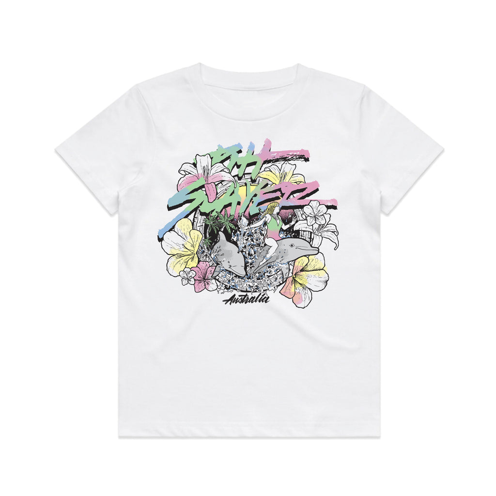 Dolphin Tee Kids - White