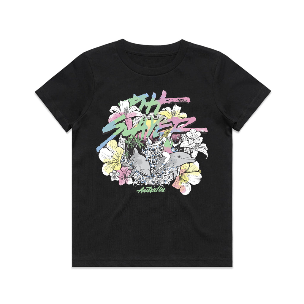 Dolphin Tee Kids - Black