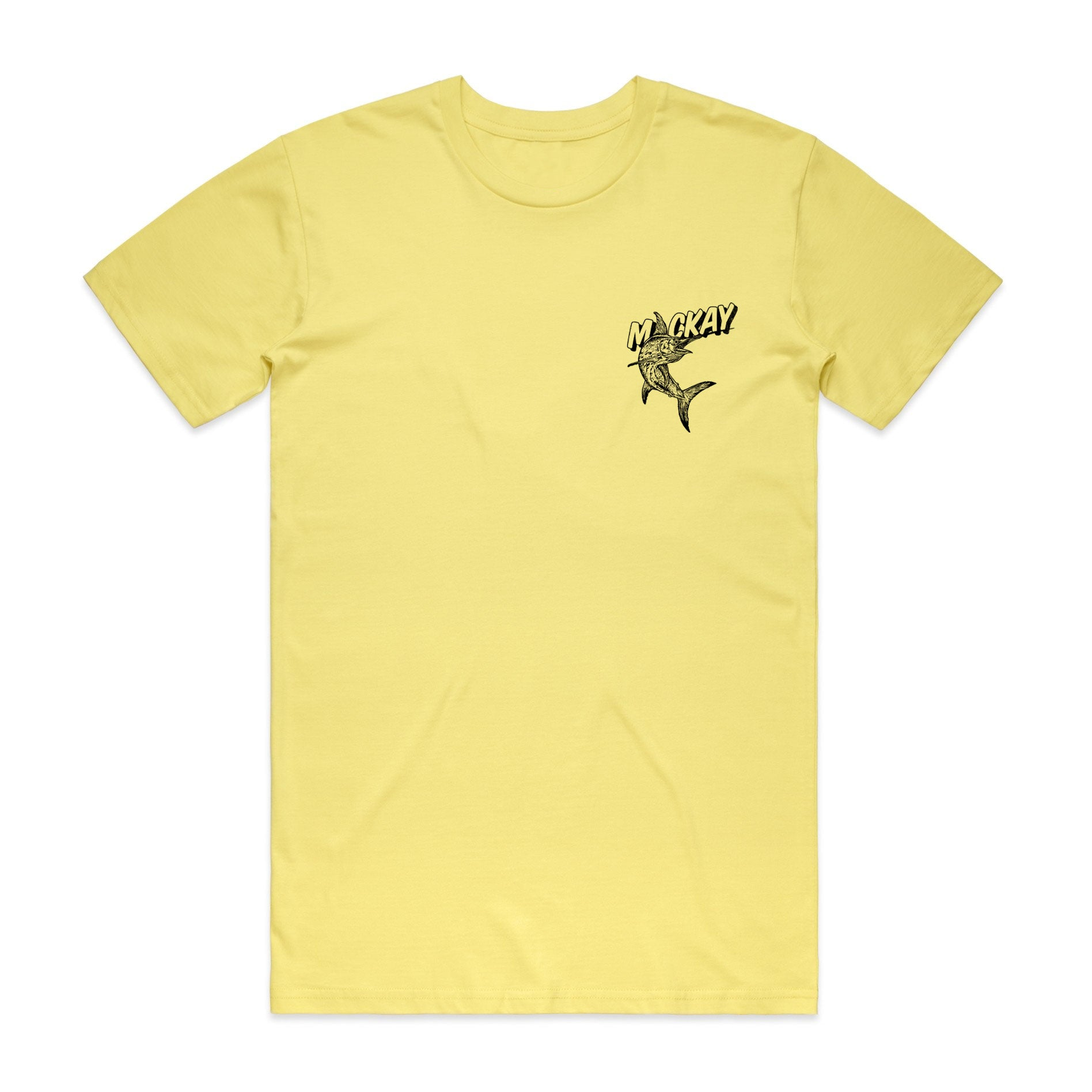 Mackay Tee - Lemon