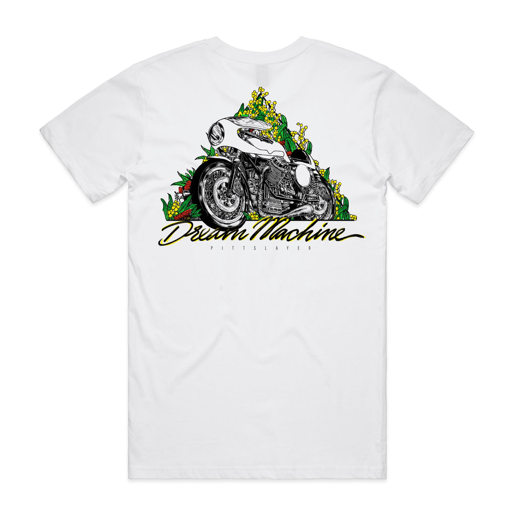 Dream Machine Tee - White