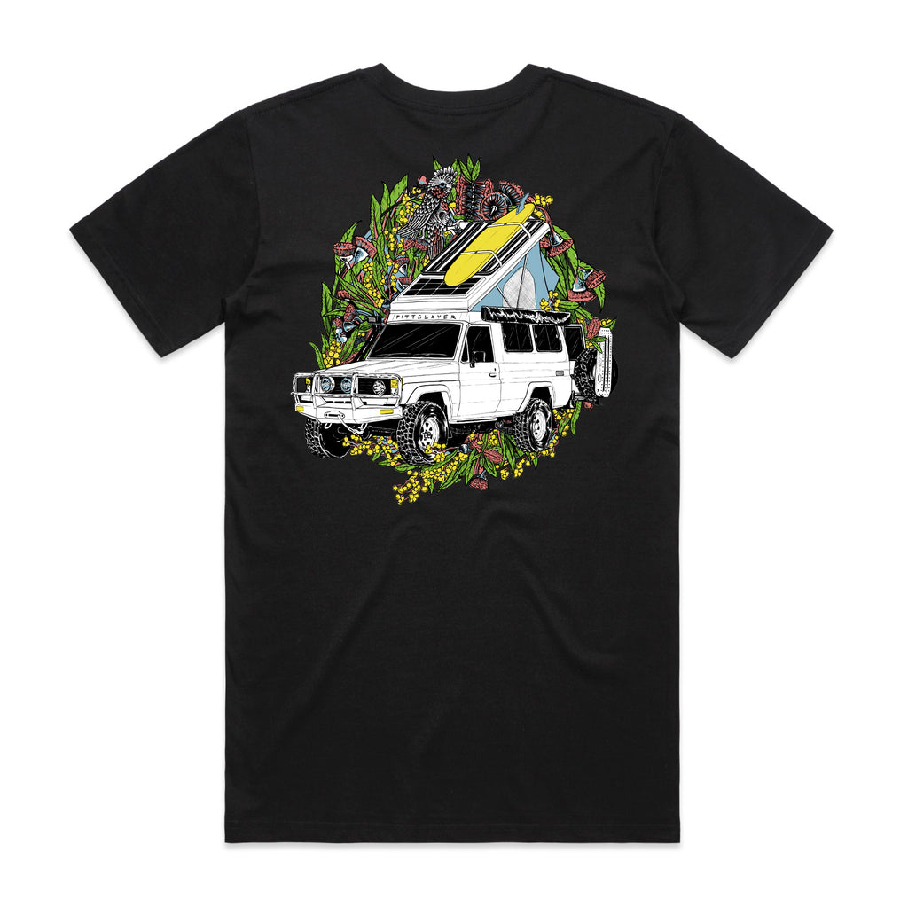 Troopy Tee - Black/Yellow