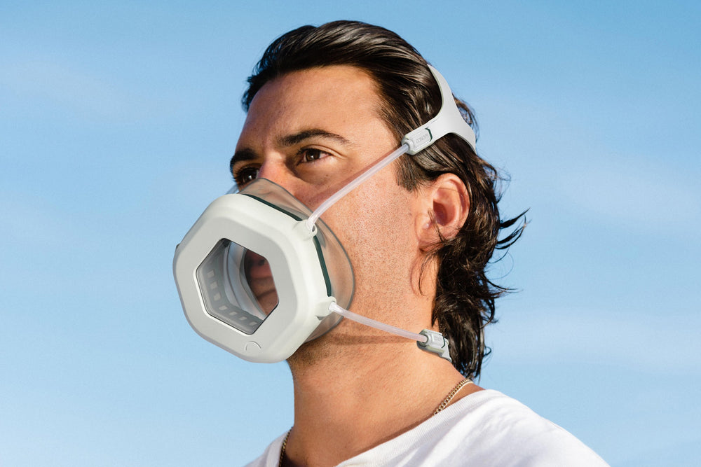 Man wearing Canopy Mask