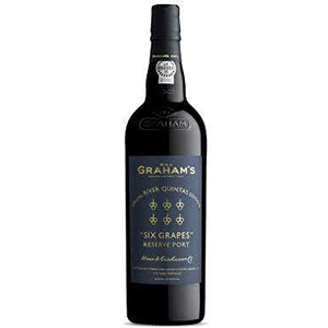 GRAHAM'S SIX GRAPES RIVER QUINTAS PORT