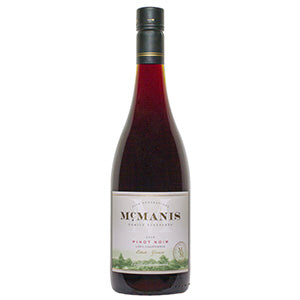 MCMANIS FAMILY VINEYARDS PINOT NOIR 2018