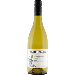 TOAD HOLLOW UNOAKED CHARDONNAY 2019