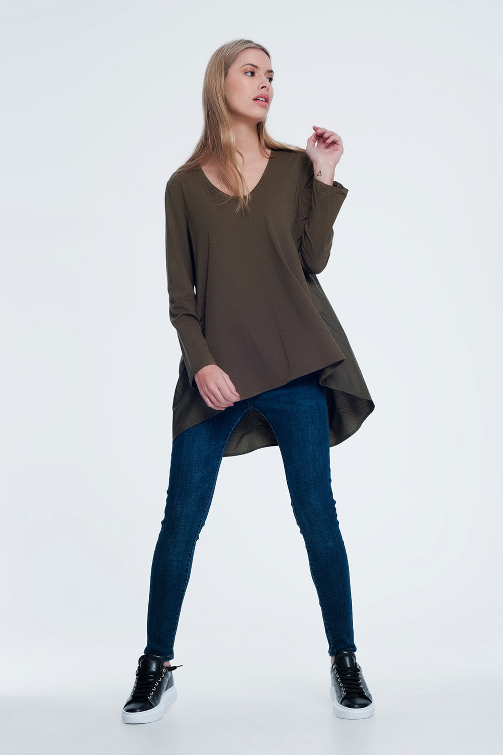Long T-Shirt With Long Sleeves
