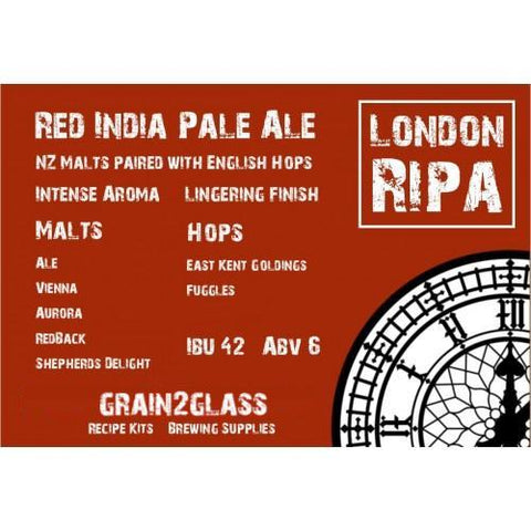 London RIPA - Red India Pale Ale