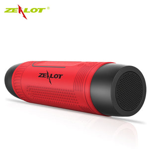 Zealot S1 Powerful Bluetooth Bicycle waterproof portable Speaker