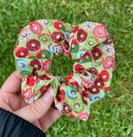 Load image into Gallery viewer, Holiday Donuts Scrunchie