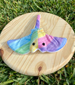 Load image into Gallery viewer, Pastel Rainbow Stingray Plushie