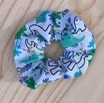 Load image into Gallery viewer, Grrrr! Dinosaur Scrunchie