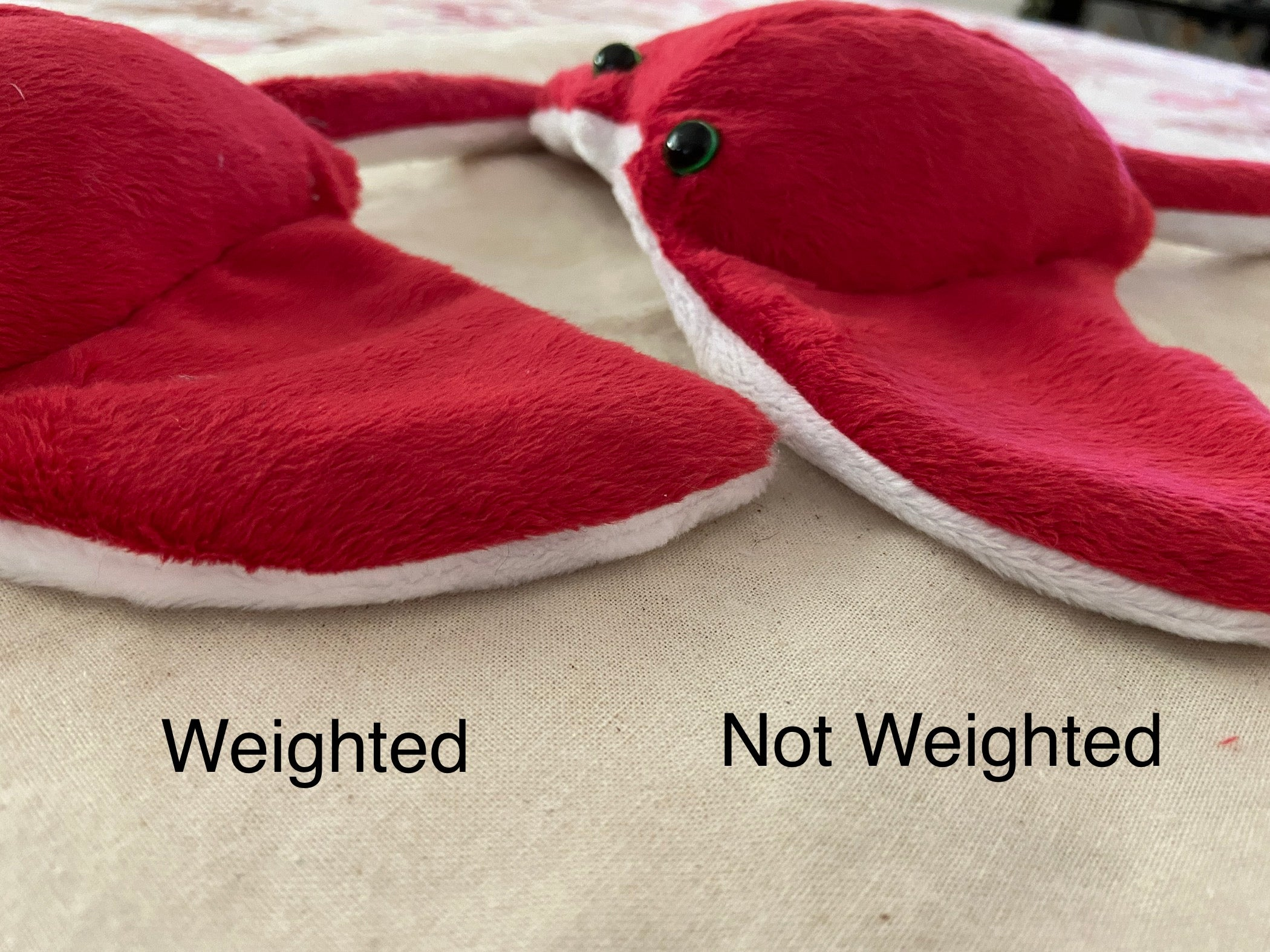 Weighted Wings for Stingrays