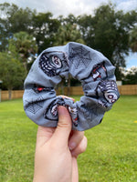 Load image into Gallery viewer, Nightmare Before Christmas Halloween Scrunchie