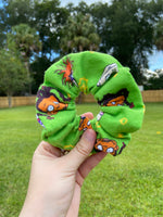 Load image into Gallery viewer, Rugrat Flannel Scrunchie