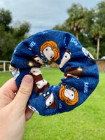 Load image into Gallery viewer, Friends Flannel Scrunchie