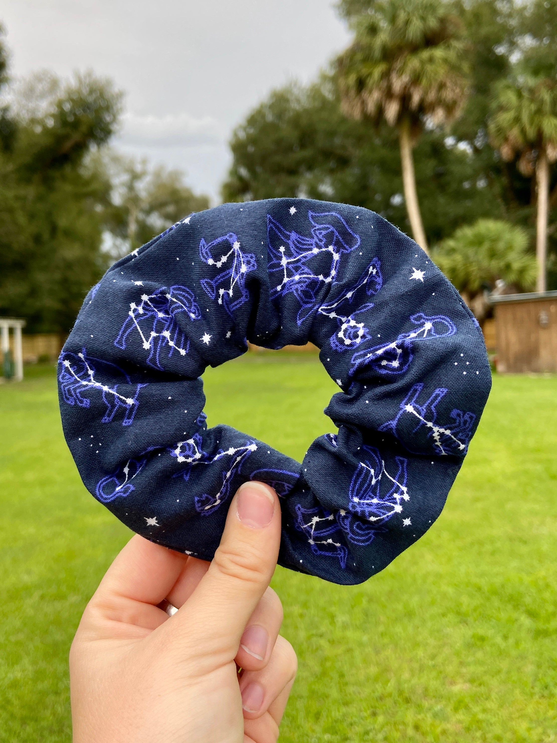Zodiac Constellations Scrunchie