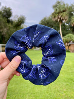 Load image into Gallery viewer, Zodiac Constellations Scrunchie
