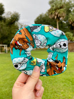 Load image into Gallery viewer, Scooby-Doo Scrunchie