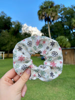 Load image into Gallery viewer, Let it Snow Scrunchie