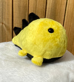Load image into Gallery viewer, Yellow & Black Dino Plushie