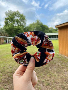 Cheesy Pizza Scrunchie