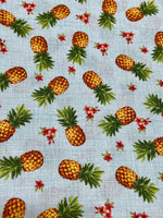 Load image into Gallery viewer, Tropical Pineapple Scrunchie