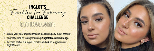 Inglot's Freckles for February CHALLENGE