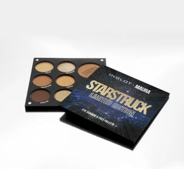 Inglot X Maura Limited Edition 'Starstruck' Eye and Face Palette