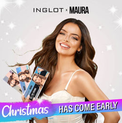 Christmas Has Come Early - INGLOT X MAURA Lip & Eye Kits