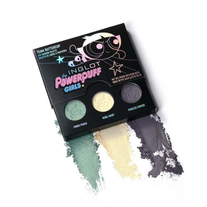 Powerpuff Girls Eye Shadow Palette - Buttercup