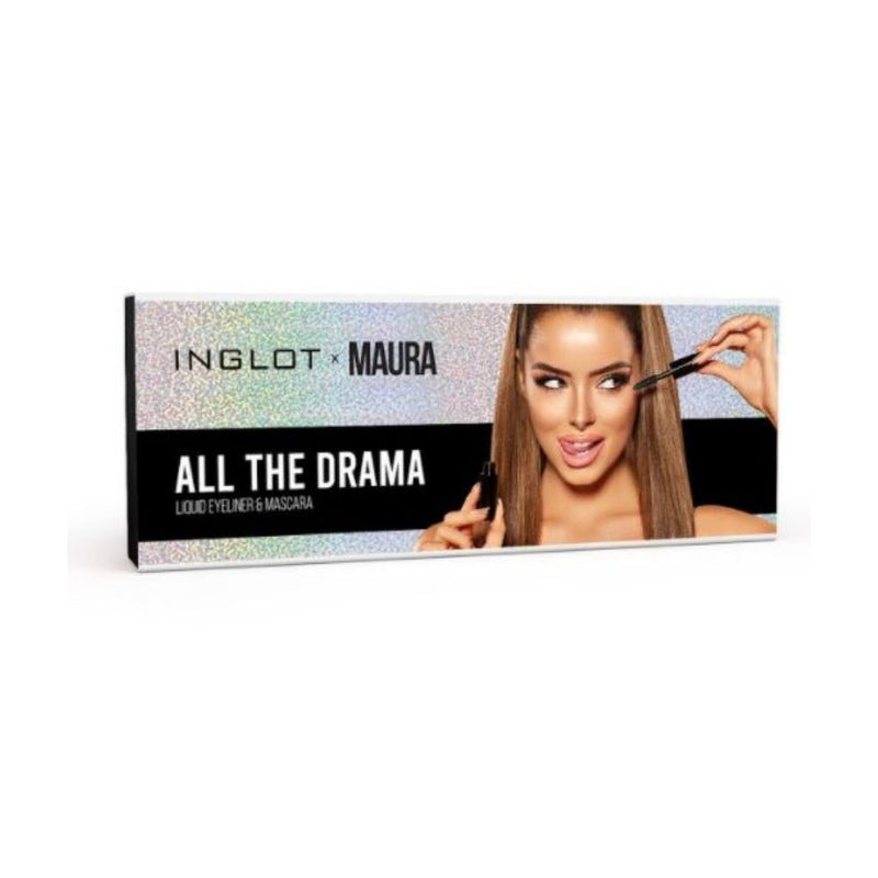 Inglot X Maura | All The Drama Eye Set